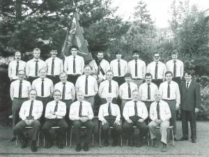 Männerchor Schupfart 1989